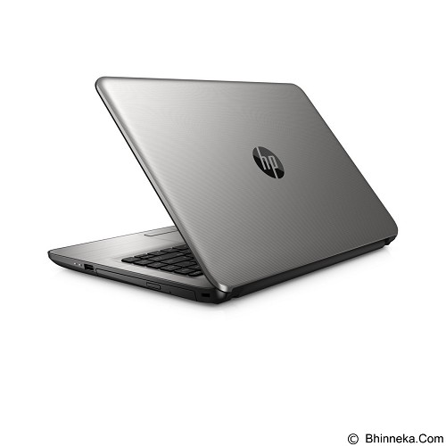 HP Notebook 14-an016AU Non Windows [X3C60PA] - Silver - Notebook / Laptop Consumer Amd Quad Core