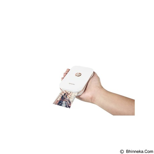 HP Sprocket Portable Photo Printer [X7N07A]  - White - Printer Inkjet & Photo