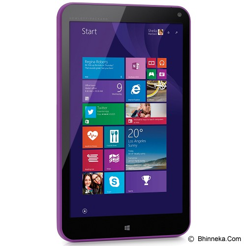 HP Stream 8 [K2L04PA] - Purple - Tablet Windows