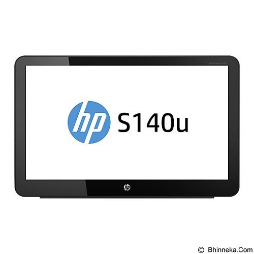 HP Touch LED Monitor Portable S140u 14 Inch [G8R65AA] - Monitor Led 15 Inch - 19 Inch