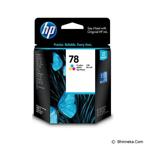 HP Tri-Color Ink Cartridge 78 [C6578DA] (Merchant) - Tinta Printer Hp