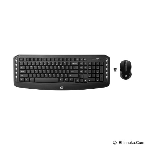 HP Wireless Classic Desktop [J8F13AA] - Keyboard Mouse Combo