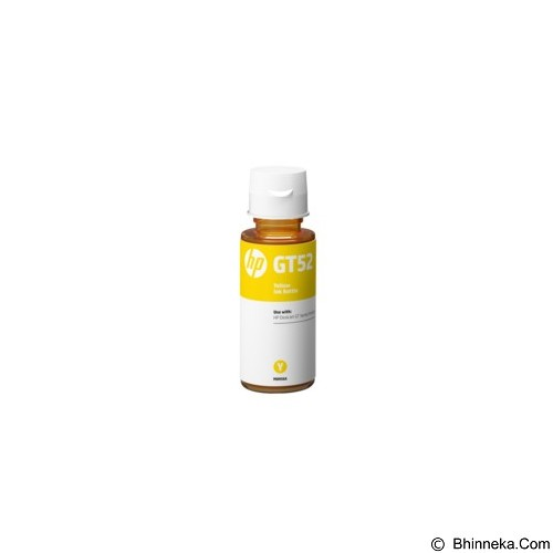 HP Yellow Ink Bottle GT52 [M0H56AA] - Tinta Printer Hp