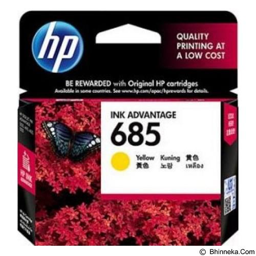 HP Yellow Ink Cartridge 685 (Merchant) - Tinta Printer Hp