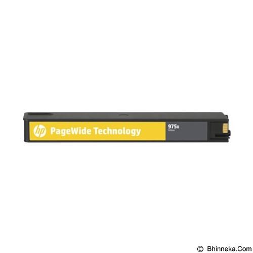 HP Yellow Ink PageWide Cartridge 975X [L0S06AA] - Tinta Printer HP