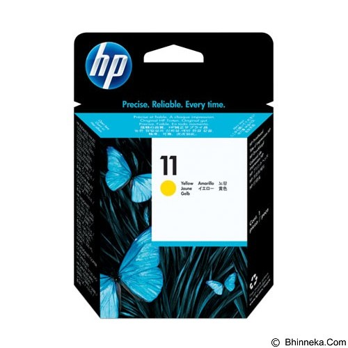 HP Yellow Printhead 11 [C4813A] - Tinta Printer Wide Format HP