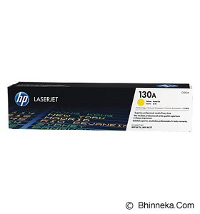 HP Yellow Toner 130A [CF352A] (Merchant) - Toner Printer HP