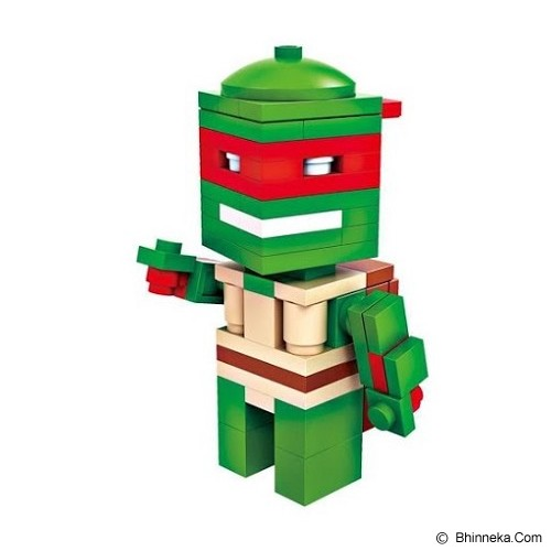 HSANHE Action Figure Cube Nano Micro World Series Raphael [6318] - Building Set Movie