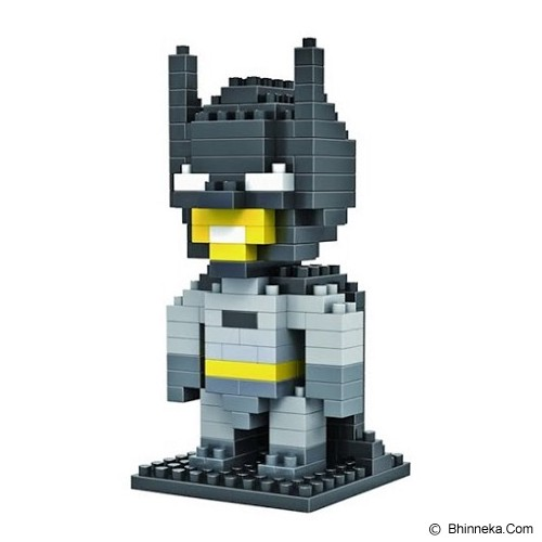 HSANHE Action Figure Nano Blocks World Series Batman [118] - Building Set Movie