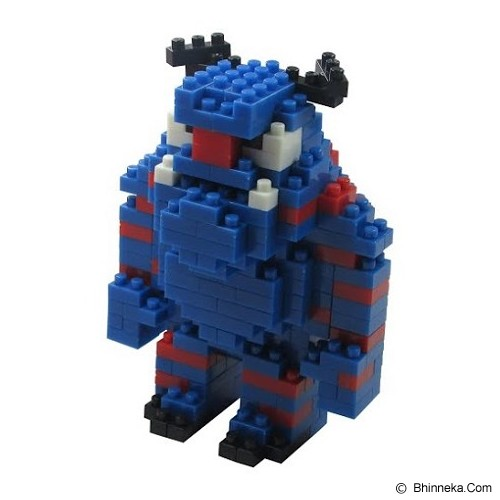 HSANHE Action Figure Nano Blocks World Series Sulley Sullivan [106] Packing Size - Building Set Movie