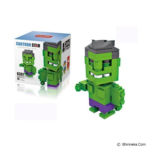 HSANHE Hulk [6307] - Building Set Movie