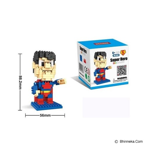 HSANHE Superman [8107] - Building Set Movie