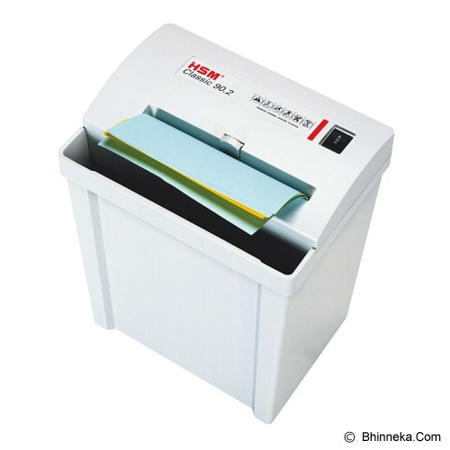 HSM Shredder Classic 90.2 (3.9 mm) - Paper Shredder Heavy Duty