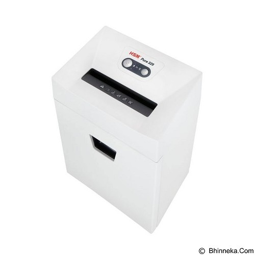 HSM Shredder Pure 320 (3.9x30 mm) - Paper Shredder Heavy Duty
