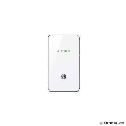 HUAWEI 3G Ultra Slim Mobile WiFi [E5338-WH] - White - Modem Mifi