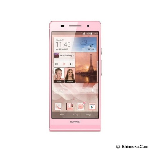 HUAWEI Ascend P6 - Pink (Merchant) - Smart Phone Android