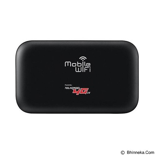 HUAWEI Jumper Paket Internet 4G Telkomsel Halo 180GB 12Bulan - Black (Merchant) - Modem Mifi