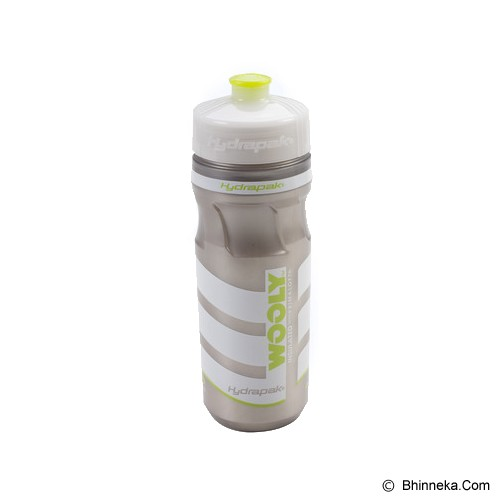 HYDRAPAK Wooly Mammoth - Green/Silver - Sport Water Bottle / Botol Minum