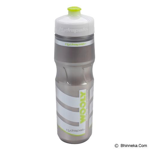 HYDRAPAK Wooly Mammoth - Green/Silver - Sport Water Bottle / Botol Minum
