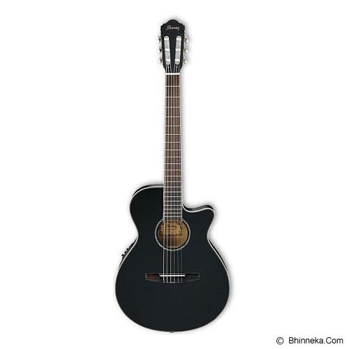 IBANEZ Gitar Akustik [AEG8TNE-BKF] - Gitar Akustik Elektrik