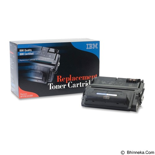IBM Toner Cartridge Black [38A-Q1338A] - Toner Printer Refill