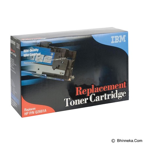 IBM Toner Cartridge Cyan [Q2681A] - Toner Printer Refill