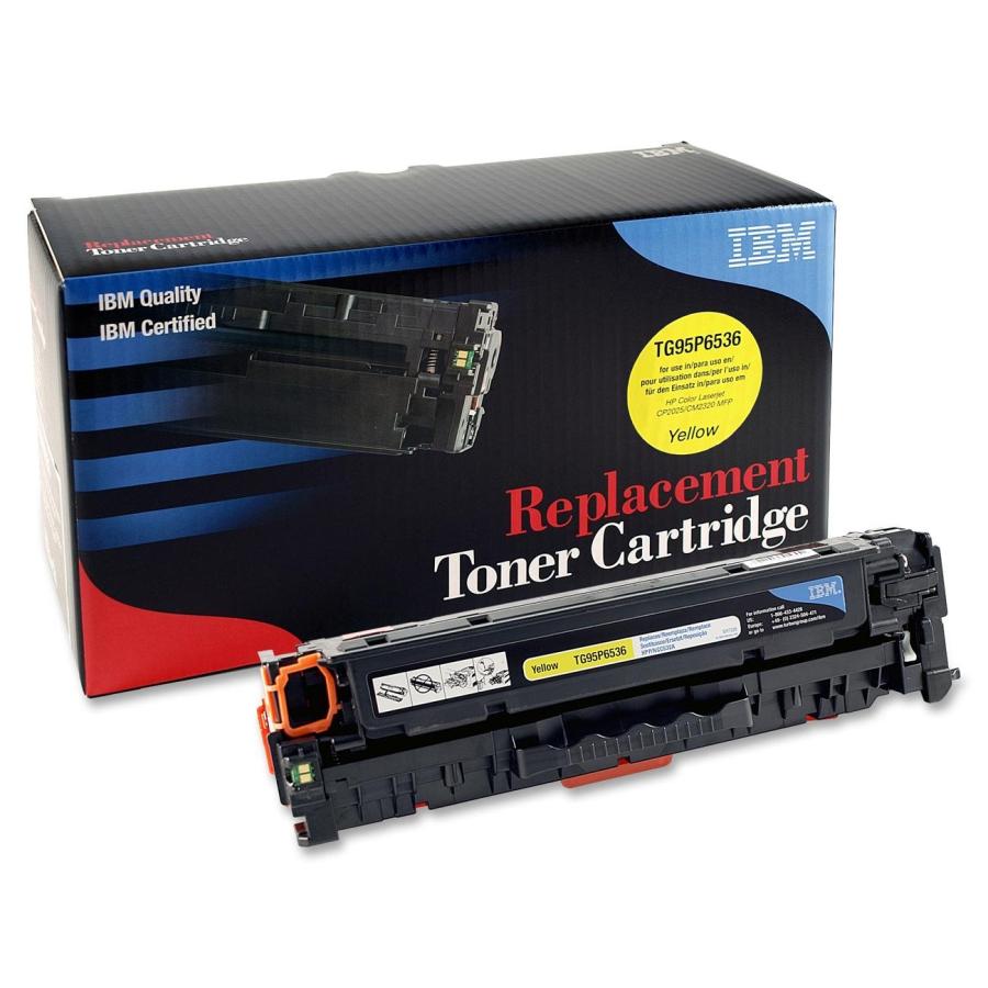 IBM Toner Cartridge Yellow [CC532A] - Toner Printer Refill