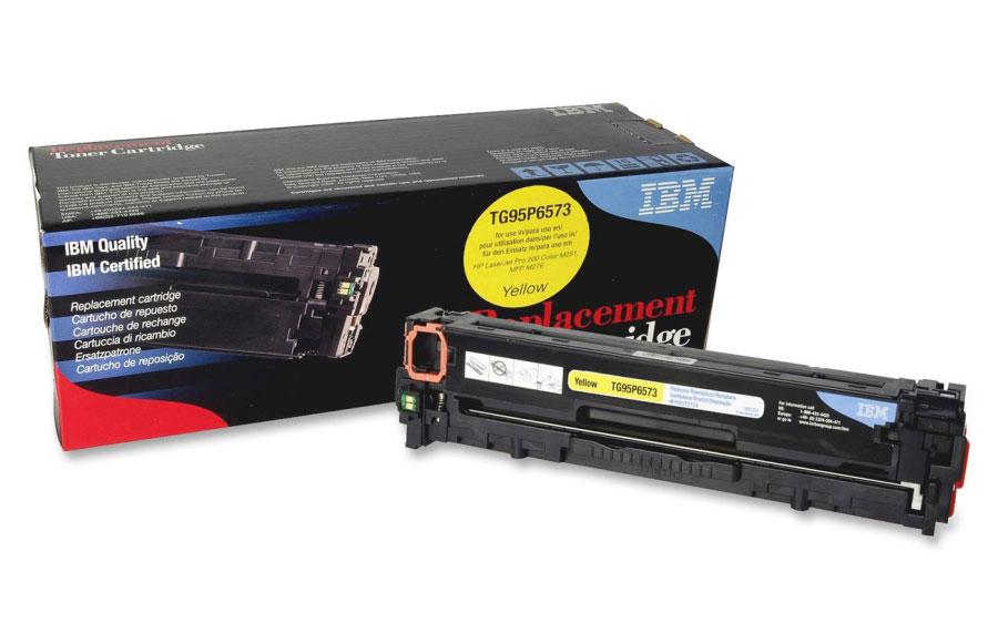 IBM Toner Cartridge Yellow [CF212A] - Toner Printer Refill