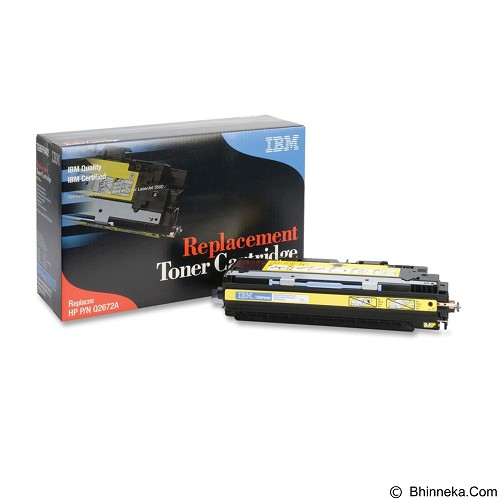 IBM Toner Cartridge Yellow [Q2672A] - Toner Printer Refill