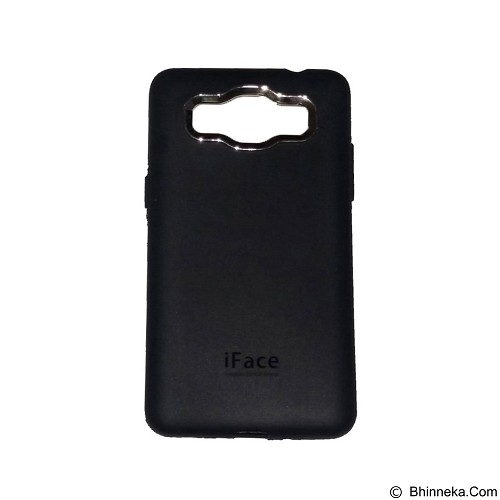 IFACE SOFTSHELL Silicon Case Samsung Galaxy J1 Ace - Black (Merchant) - Casing Handphone / Case
