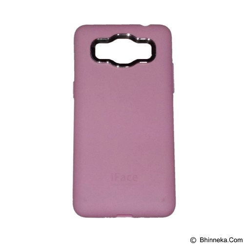 IFACE SOFTSHELL Silicon Case Samsung Galaxy J1 Ace - Pink (Merchant) - Casing Handphone / Case