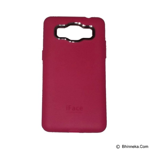 IFACE SOFTSHELL Silicon Case Samsung Galaxy J1 Ace - Red (Merchant) - Casing Handphone / Case