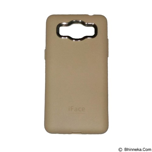 IFACE SOFTSHELL Silicon Case Samsung Galaxy J1 - Gold (Merchant) - Casing Handphone / Case