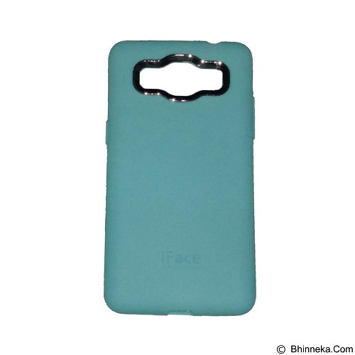 IFACE SOFTSHELL Silicon Case Samsung Galaxy J1 - Green Tosca (Merchant) - Casing Handphone / Case