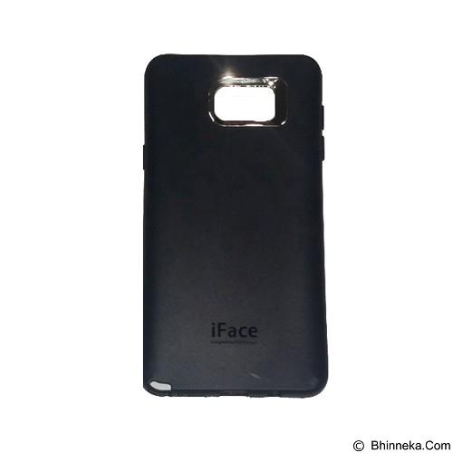 IFACE SOFTSHELL Silicon Case Samsung Galaxy Note 5 - Black (Merchant) - Casing Handphone / Case