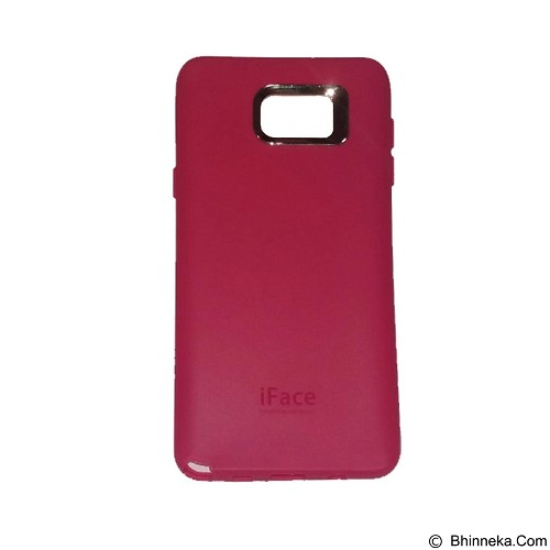 IFACE SOFTSHELL Silicon Case Samsung Galaxy Note 5 - Red (Merchant) - Casing Handphone / Case