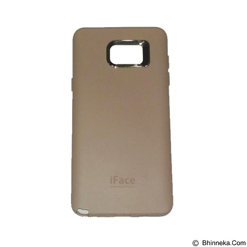 IFACE SOFTSHELL Silicon Case Samsung Galaxy S6 - Gold (Merchant) - Casing Handphone / Case