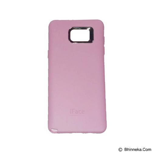 IFACE SOFTSHELL Silicon Case Samsung Galaxy S6 - Pink (Merchant) - Casing Handphone / Case
