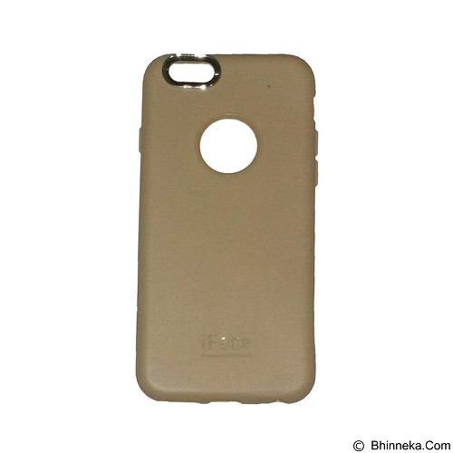 IFACE SOFTSHELL Silicone iPhone 6 Plus/6S Plus/6 - Gold (Merchant) - Casing Handphone / Case