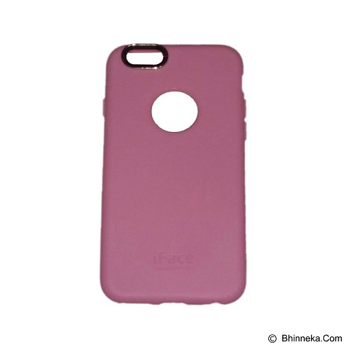 IFACE SOFTSHELL Silicone iPhone 6 Plus/6S Plus/6 - Pink (Merchant) - Casing Handphone / Case