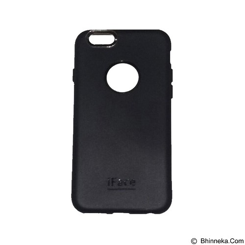 IFACE SOFTSHELL Silicone iPhone 6G/6 - Black (Merchant) - Casing Handphone / Case