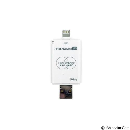 IFLASH 2in1 iOS Computer Flashdrive 64GB - Usb Flash Disk Dual Drive / Otg