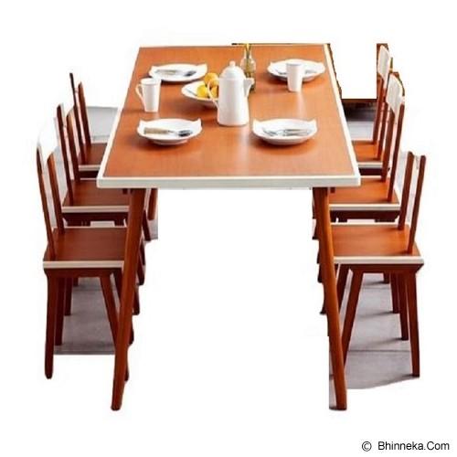 iFURNHOLIC Modernica Dining Table 170 - Meja Restoran
