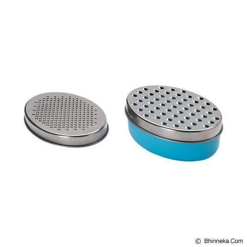 IKEA PRODUCTS Chosigt Grater With Container [101.633.03] - Blue (V) - Parutan