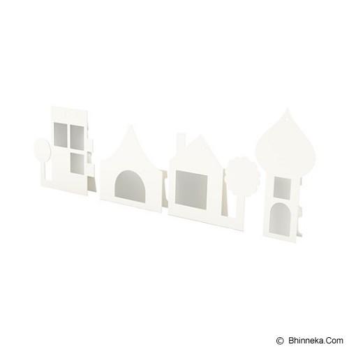 IKEA PRODUCTS Glon Frame Set of 4 [602.922.51] - White (V) - Photo Display / Frame
