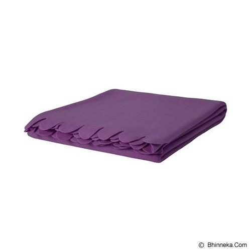 IKEA Polarvide Selimut - Purple - Seprai & Handuk