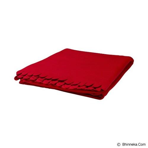 IKEA Polarvide Selimut - Red - Seprai & Handuk