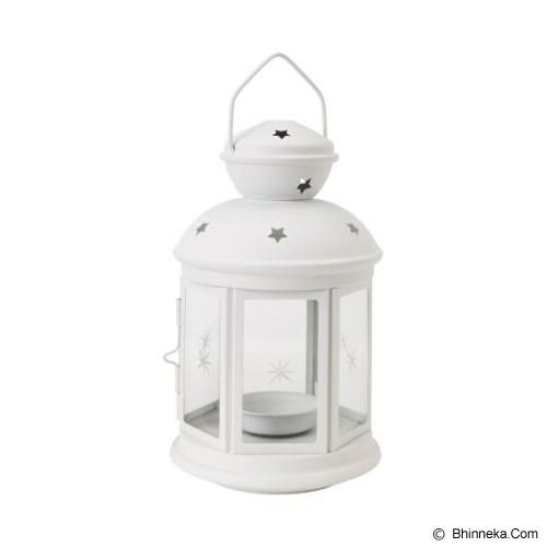 IKEA Rotera Lentera - White - Tempat Lilin