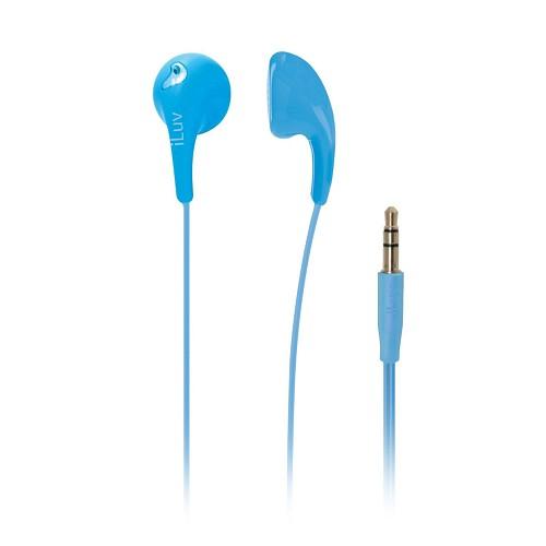 ILUV Earphone Bubble Gum II - Blue - Earphone Ear Monitor / IEM