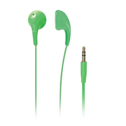 ILUV Earphone Bubble Gum II - Green - Earphone Ear Monitor / Iem